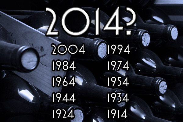 ODDS STACKED AGAINST A GREAT VINTAGE WINE YEAR IN 2014?