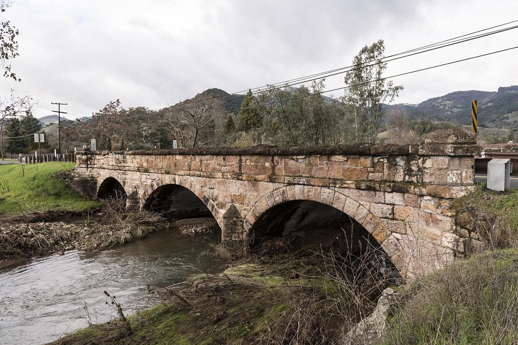 The Garnett Creek Bridge