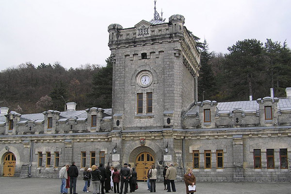 Massandra winery main building, Crimea