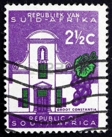 South African Wine Stamp