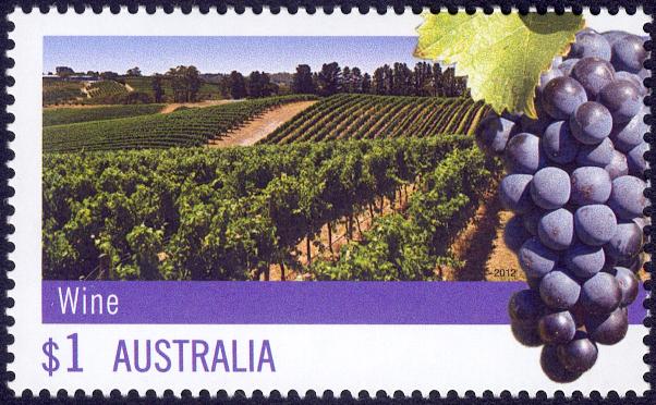 Australia Wine Stamp