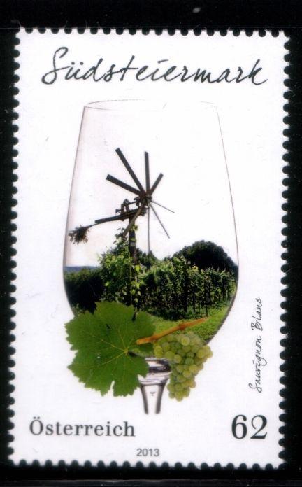 Austria Wine Stamp