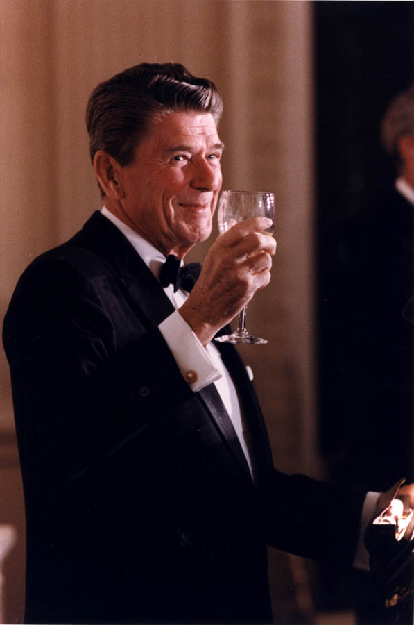 Ronald Reagan  Oenophile-in-chief