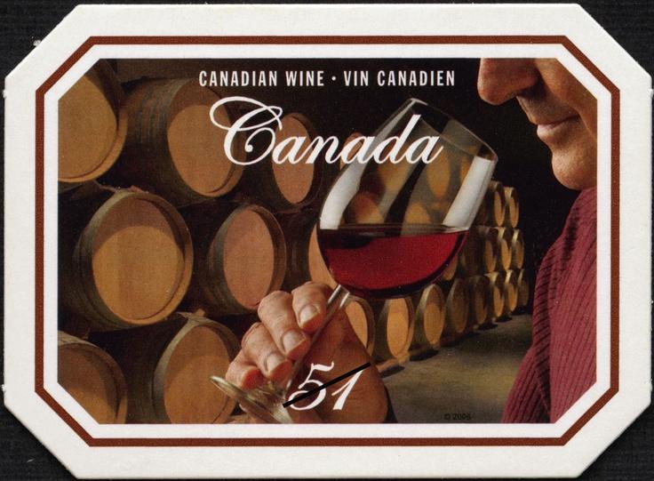 Canada 2006 Wine Stamp