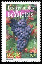 Beaujolais Stamp
