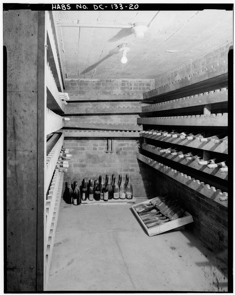 Woodrow Wilson Wine Cellar