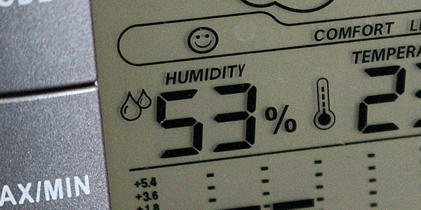 Wine cellar humidity