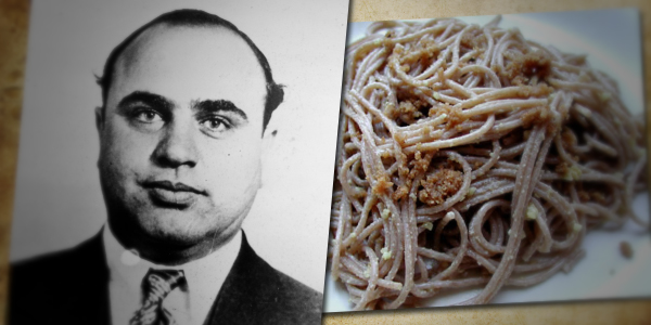 Al Capone Spaghetti and Walnut Sauce