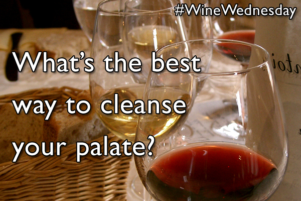 What's the best way to cleanse your palate?