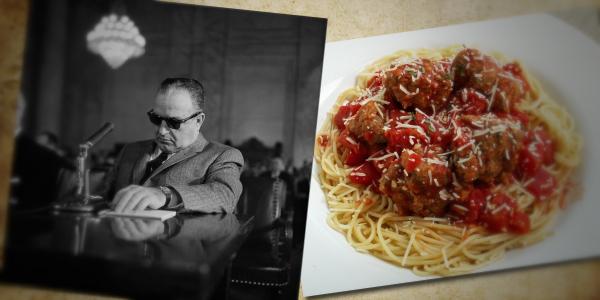 Carlos Marcello Spaghetti