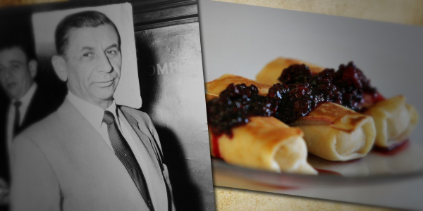 Meyer Lansky Cheese Blintzes