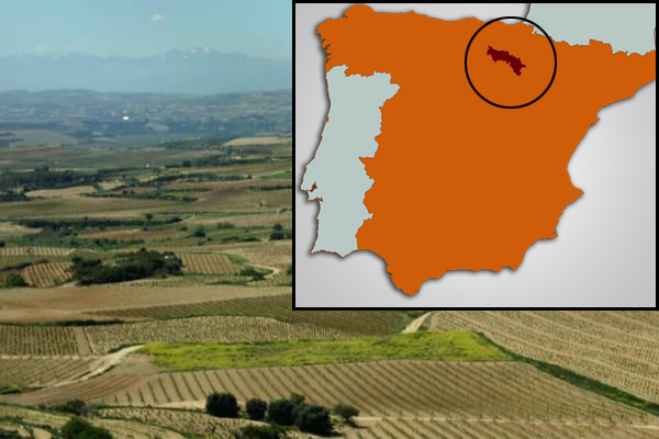 Rioja Wine Map