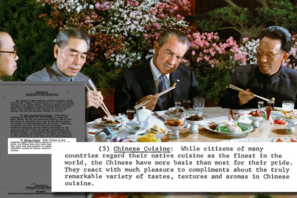 Nixon visits china secret memo