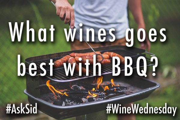 What wines go best with BBQ?