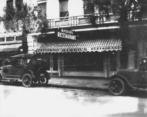Bisers Restaurant Jacksonville 1920