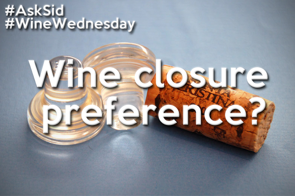 wine closure preference