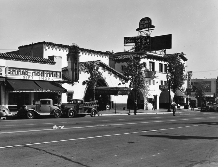 Brown Derby Hollywood and Vine