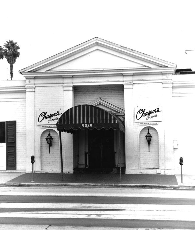Chasen's Exterior