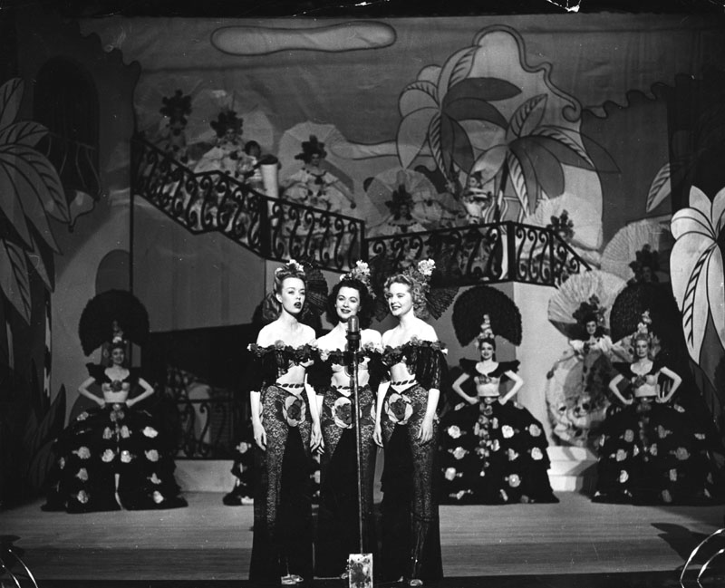 Earl Carroll Chorus Girls