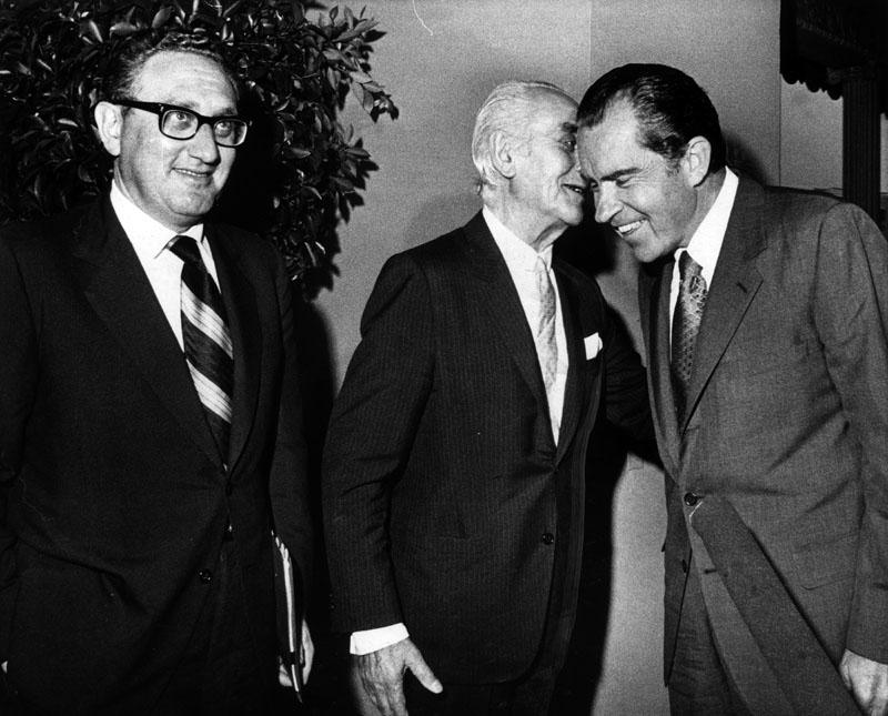 Nixon Kissinger Perino's Restaurant