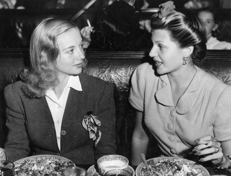 Rita Hayworth at the Brown Derby