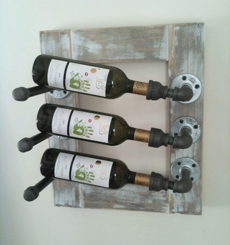 Wine Rack From Home Piping