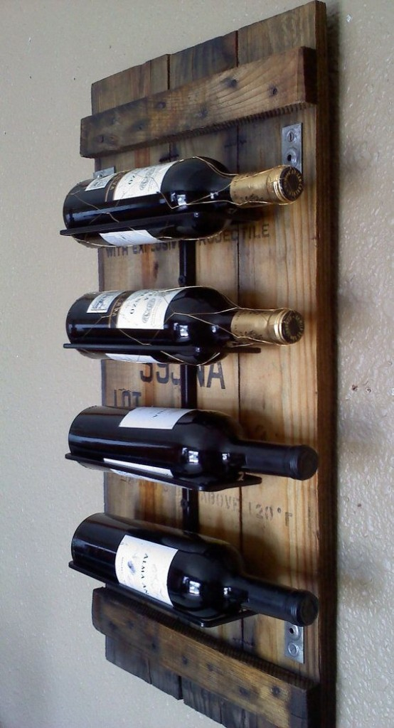 Wine Rack made from an ammunition box