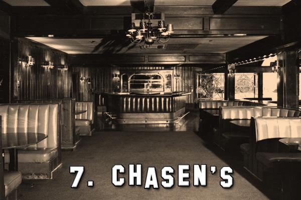 Chasen S Restaurant Los Angeles