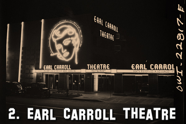 Earl Carroll Restaurant