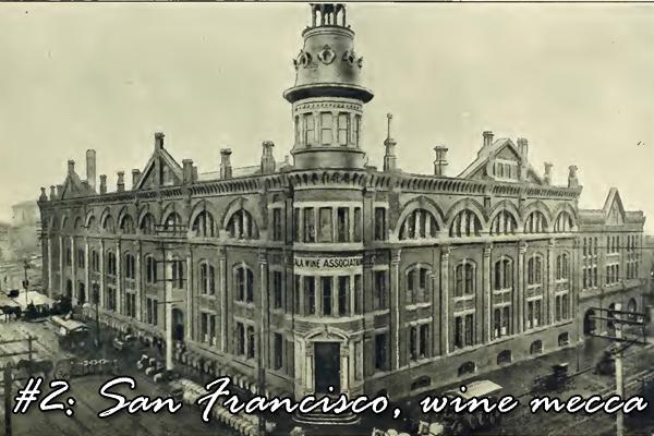 #2: San Francisco, wine mecca