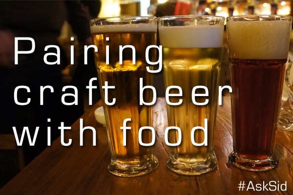 Craft beer pairing