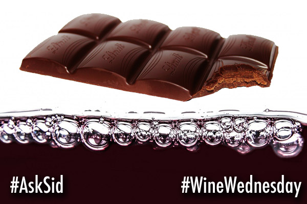 How to pair wine with chocolate?