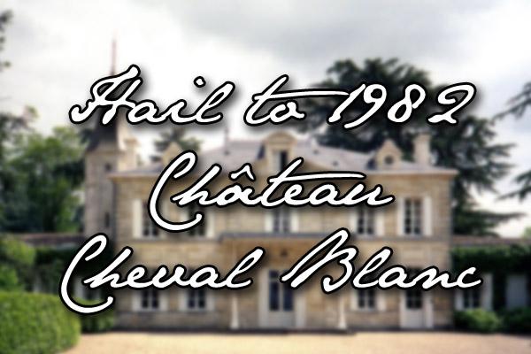 1982 Château Cheval Blanc