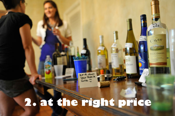 pricing wine for millennials
