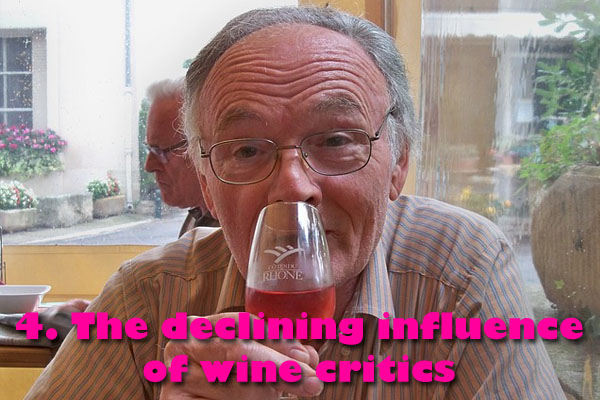 The decline of wine critics