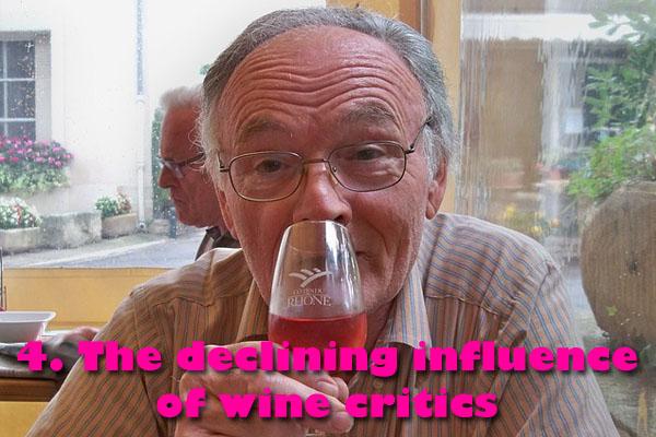 The decline of wine critics