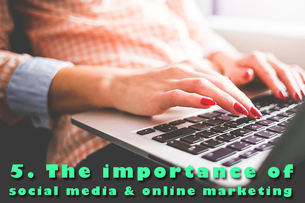 importance of social media and online marketing for wine to millennials