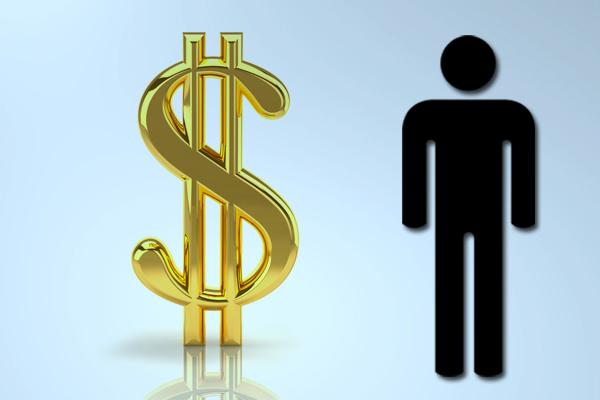 Men spend on average more money than women on wine