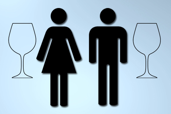 Both men and women agree on the reasons for drinking wine