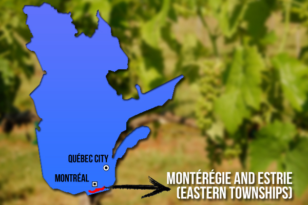 Quebec wine regions