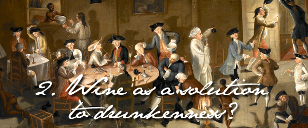 wine in colonial america