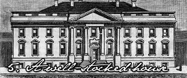 Thomas Jefferson wine at the white house