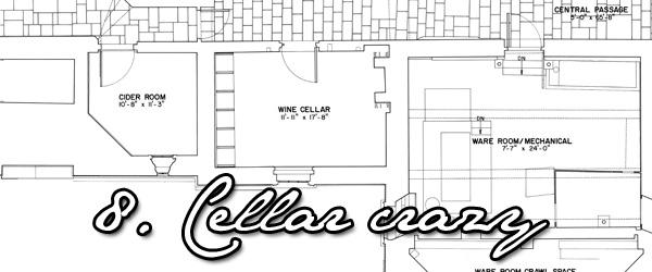 Thomas Jefferson's wine cellars