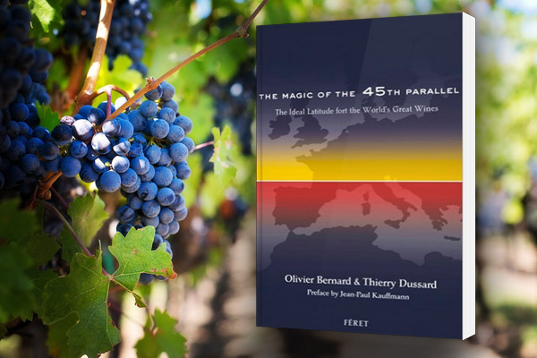 wine and the 45th parallel