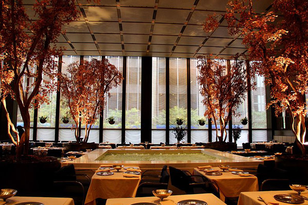 The Four Seasons Restaurant new york city