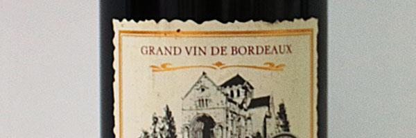 Bordeaux is a region, not a grape