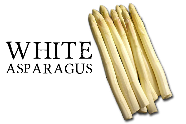 differencet between White and green asparagus