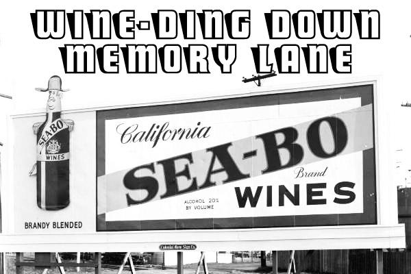 Wine on billboards