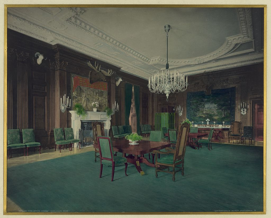 Theodore Roosevelt White House Dining Room