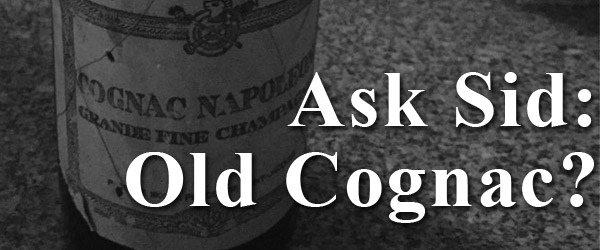 How much is this bottle of old cognac worth?